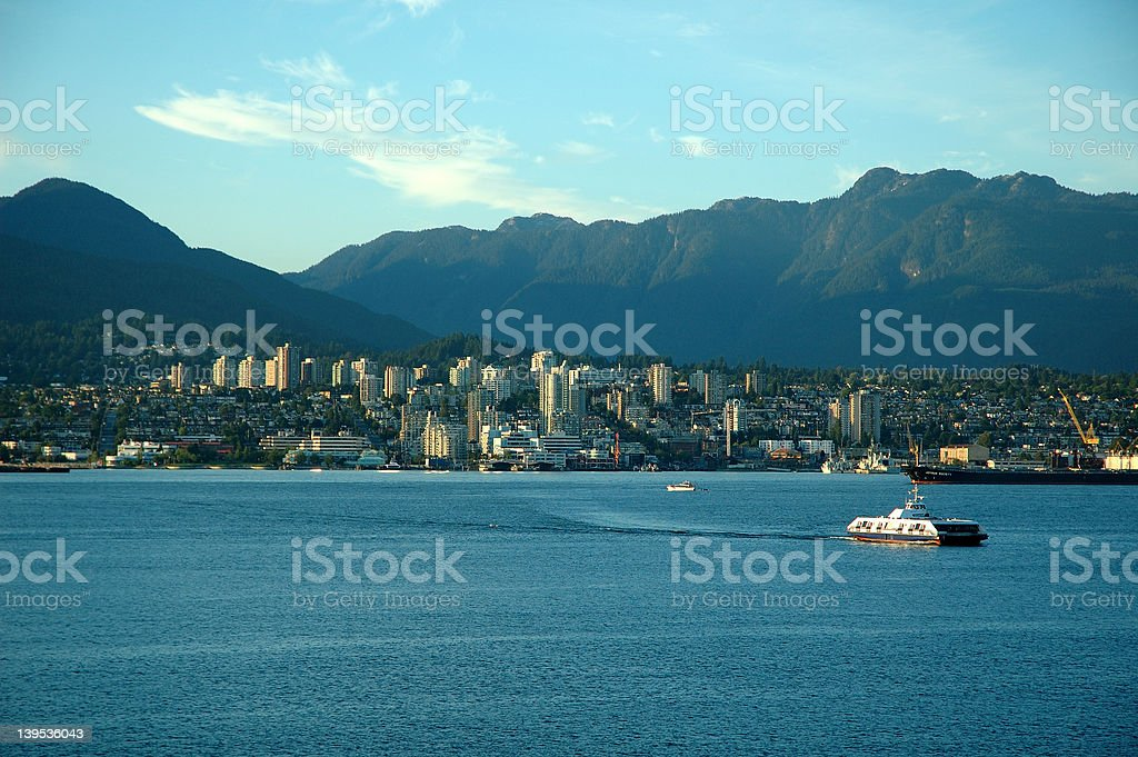 Vancouver, BC - Northshore stock photo