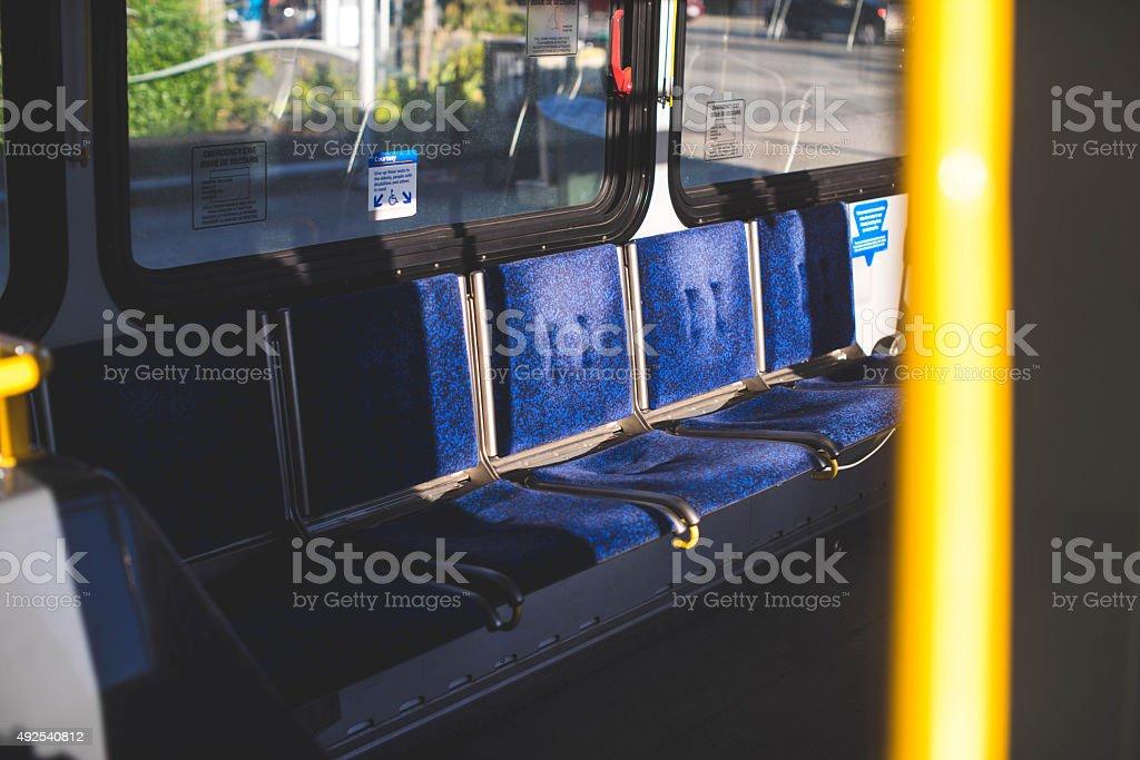 Autobús Translink Vancouver - foto de stock
