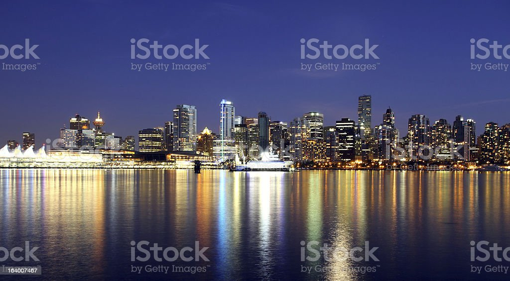Vancouver, Canada BC royalty-free stock photo
