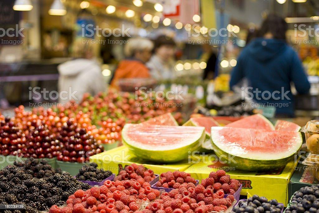 Vancouver, Canada, Granville Island Market stock photo