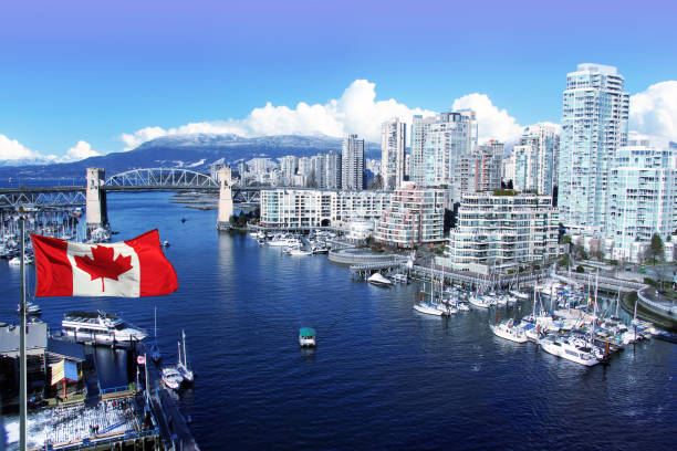 vancouver canada - canada day stock pictures, royalty-free photos & images