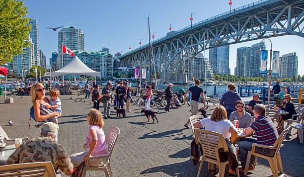 Vancouver, Canada - September 2011 stock photo