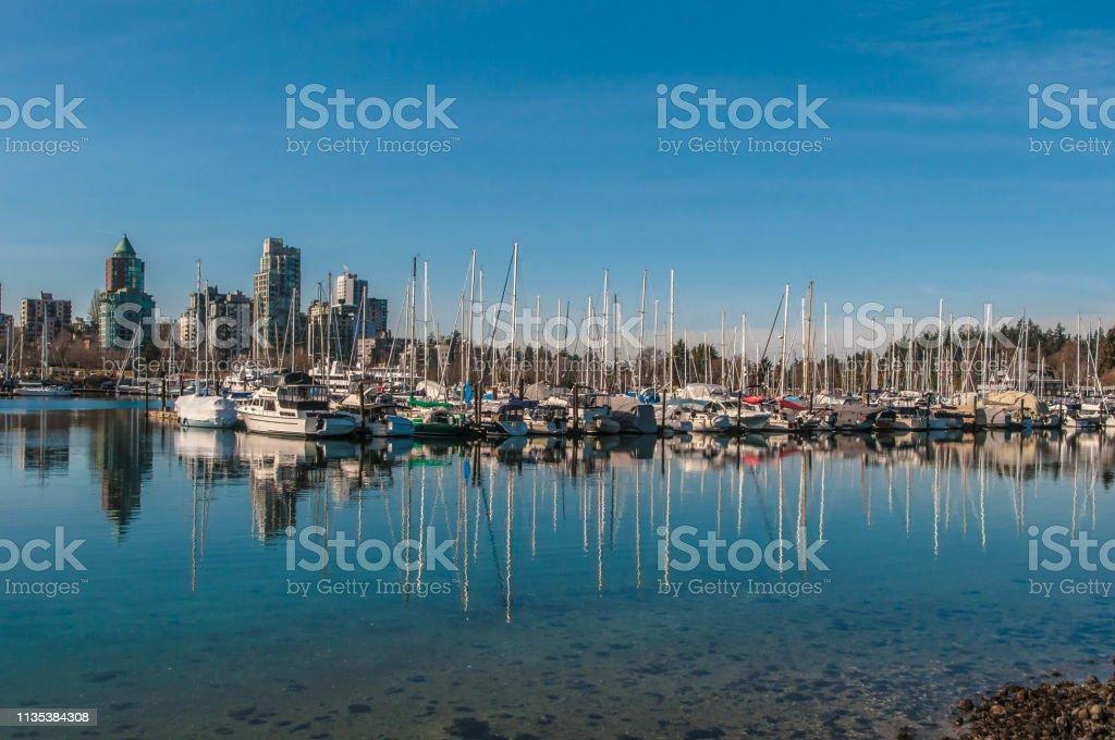 Vancouver City Skyline stock photo