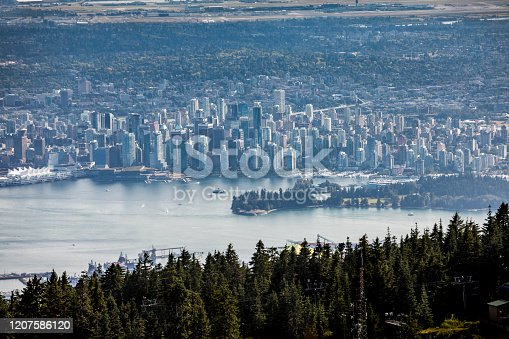 istock Vancouver city views. 1207586120