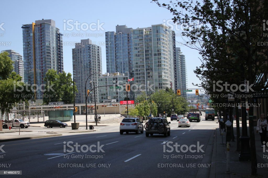 Vancouver Cityscapes (series) stock photo