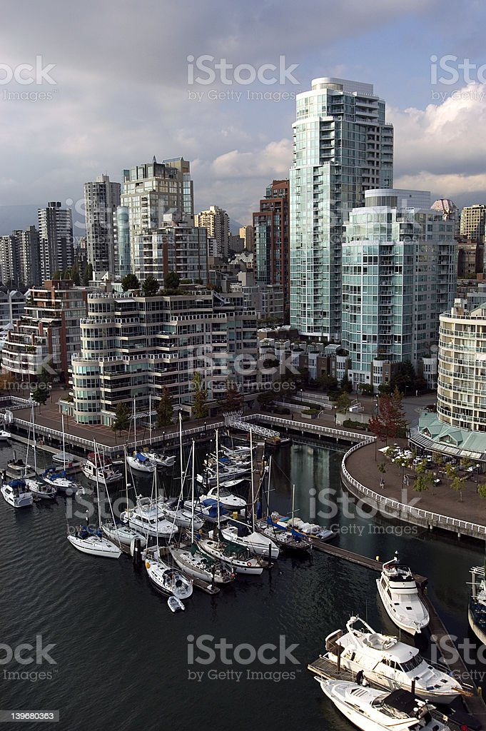 Vancouver downtown royalty-free stock photo