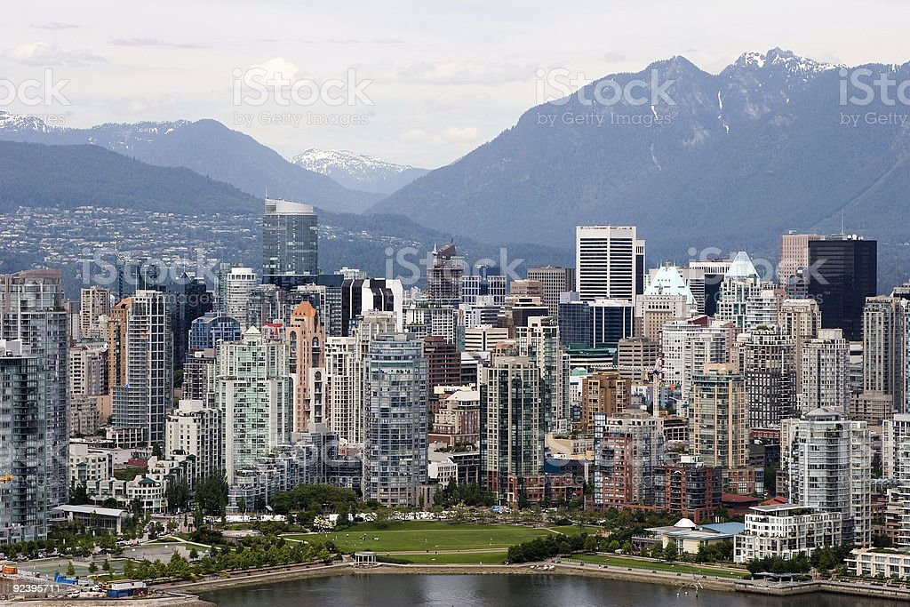 Vancouver Downtown stock photo