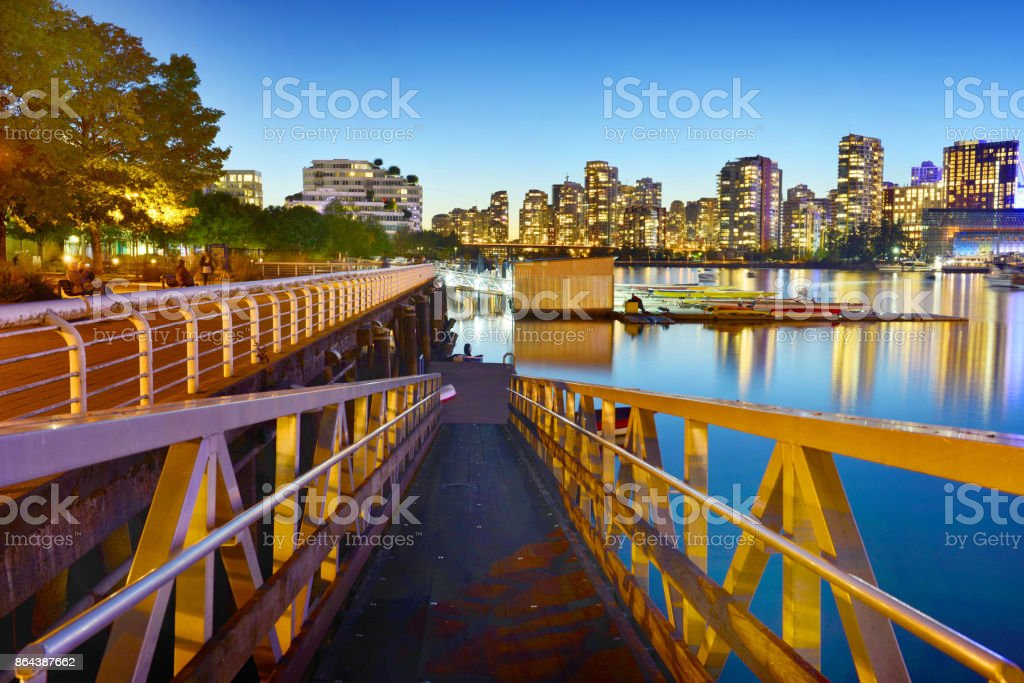 Vancouver Downtown, British Columbia, Canada​​​ foto