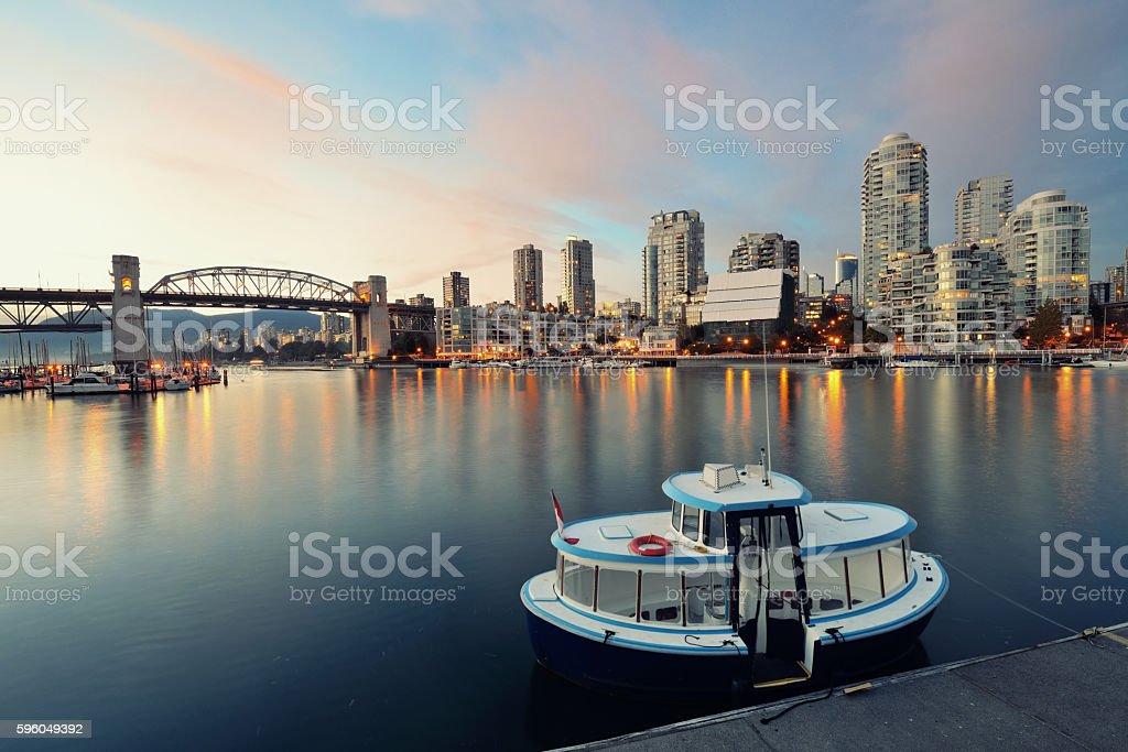 Vancouver False Creek royalty-free stock photo