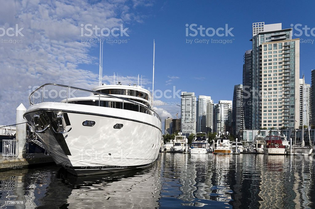 Vancouver Harbor royalty-free stock photo