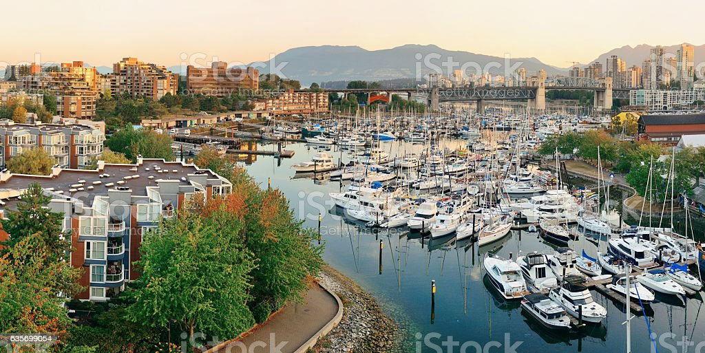 Vancouver harbor view royalty-free stock photo