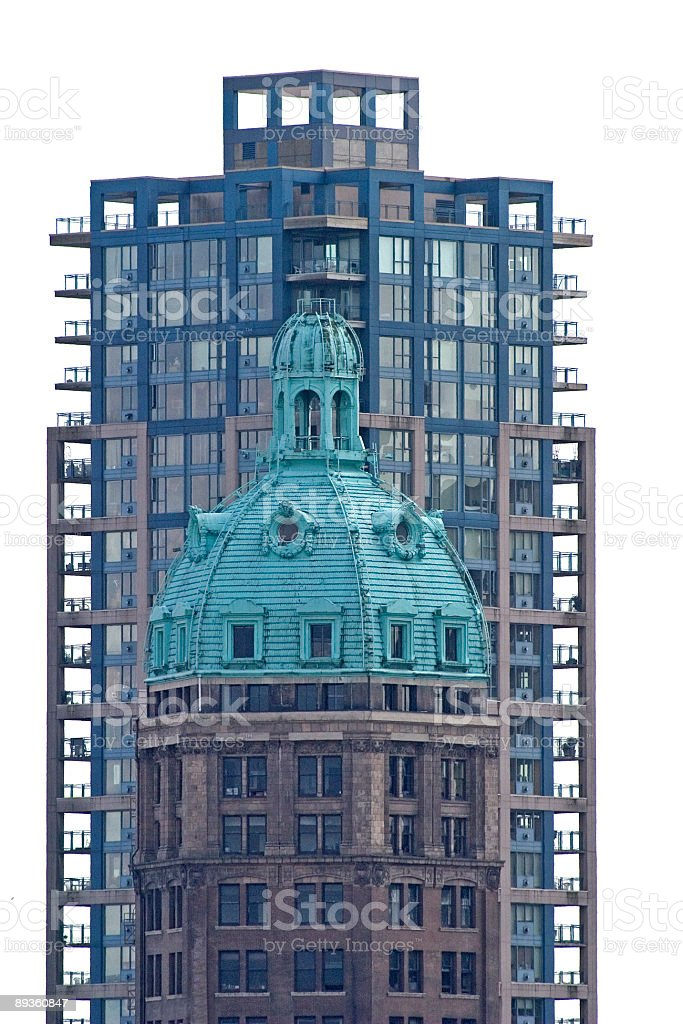 Vancouver High Rises royalty-free stock photo