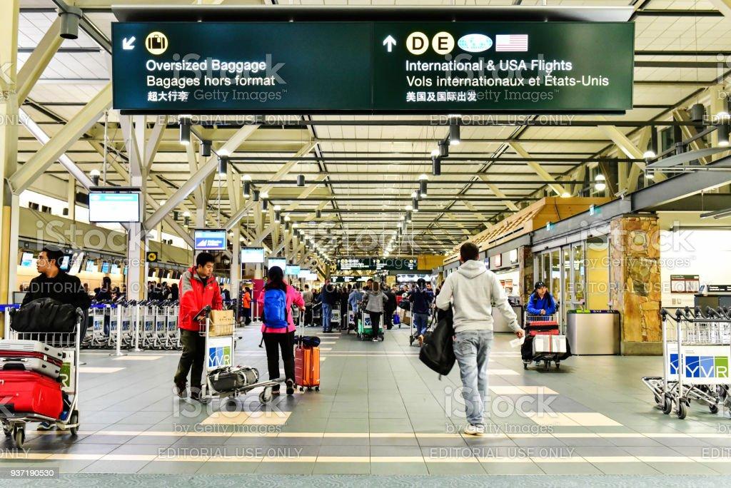 Fotografía de Aeropuerto Internacional De Vancouver En Canadá y más ...