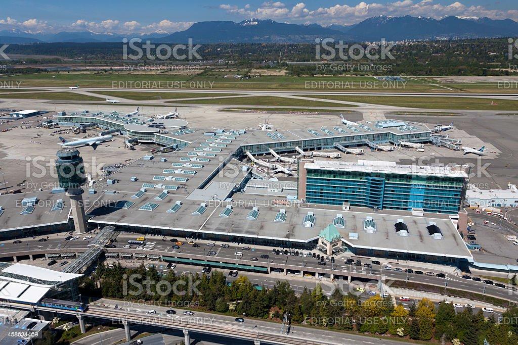 Vancouver International Airport stock photo