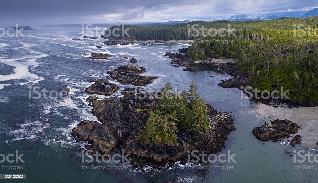 Vancouver Island stock photo