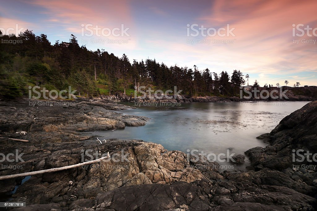 Vancouver Island Seascape stock photo