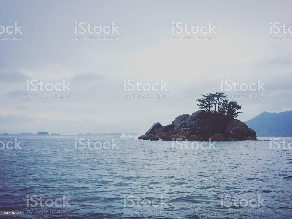 Vancouver Island South stock photo