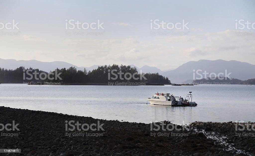 Vancouver Island sunset royalty-free stock photo