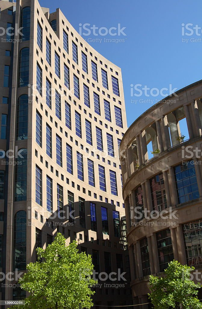 Vancouver library royalty-free stock photo