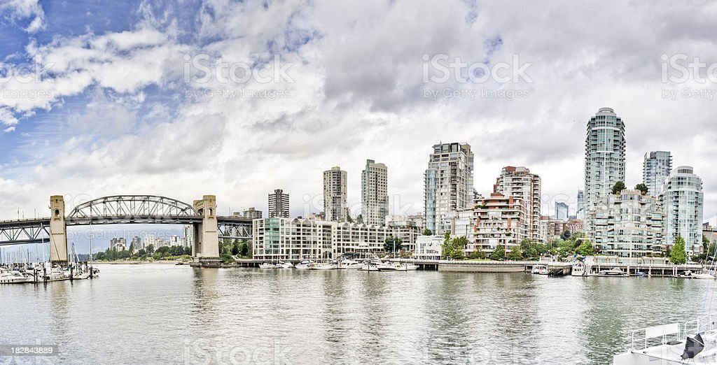 Vancouver Panorama royalty-free stock photo