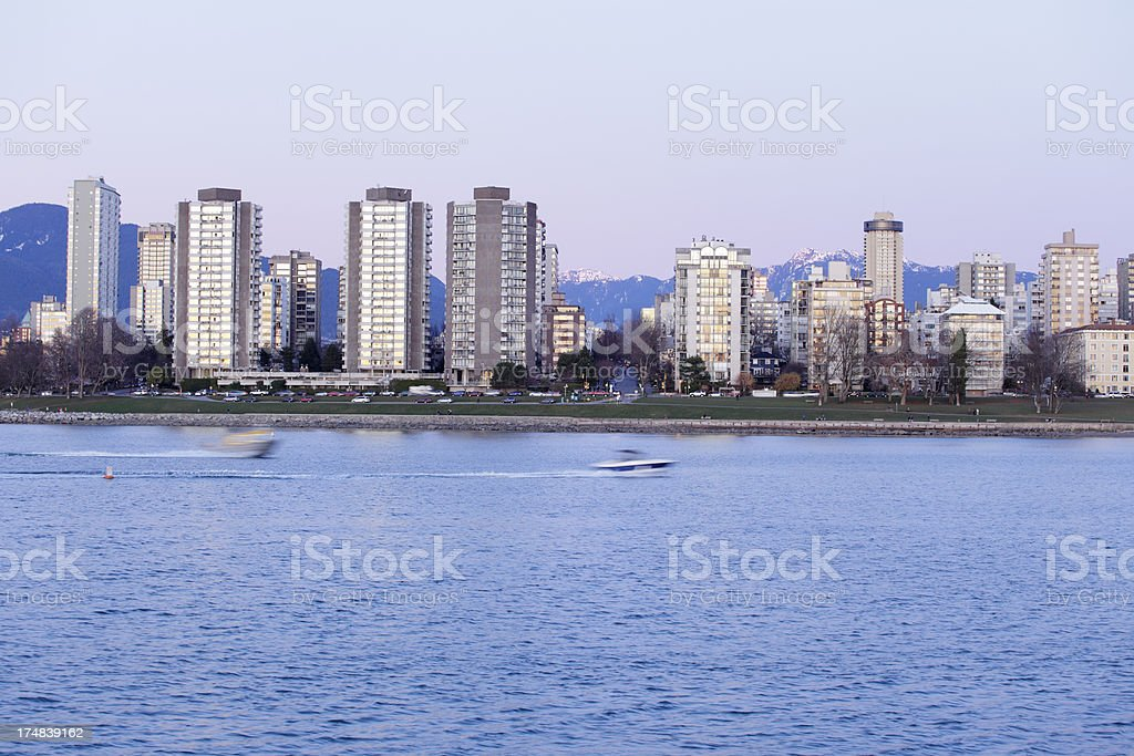 Vancouver royalty-free stock photo