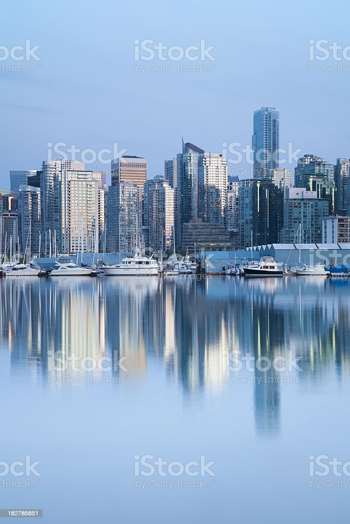 Vancouver Reflections royalty-free stock photo