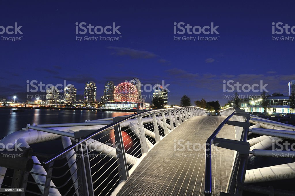 Vancouver Science World On Halloween royalty-free stock photo