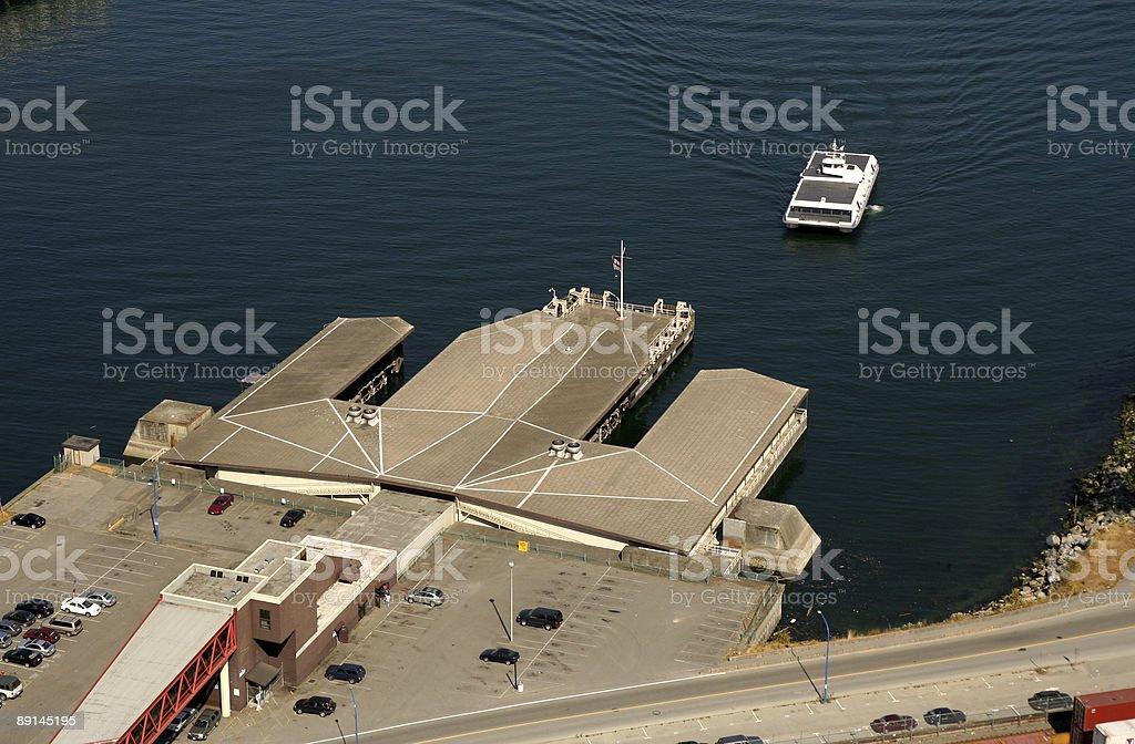 Vancouver Seabus stock photo