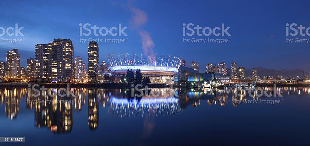 Vancouver Skyline royalty-free stock photo