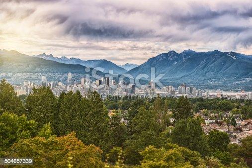 istock Vancouver Skyline 504657339