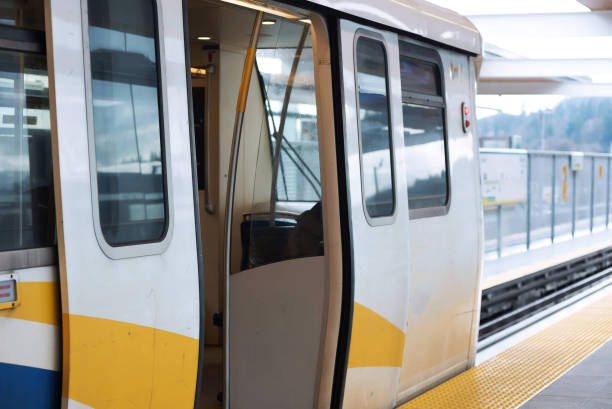 Vancouver Skytrain Commuter Rail Station – Foto