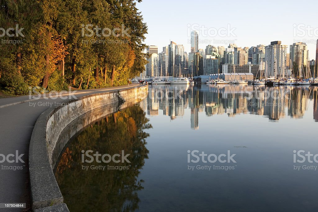 Vancouver  Stanley Park stock photo