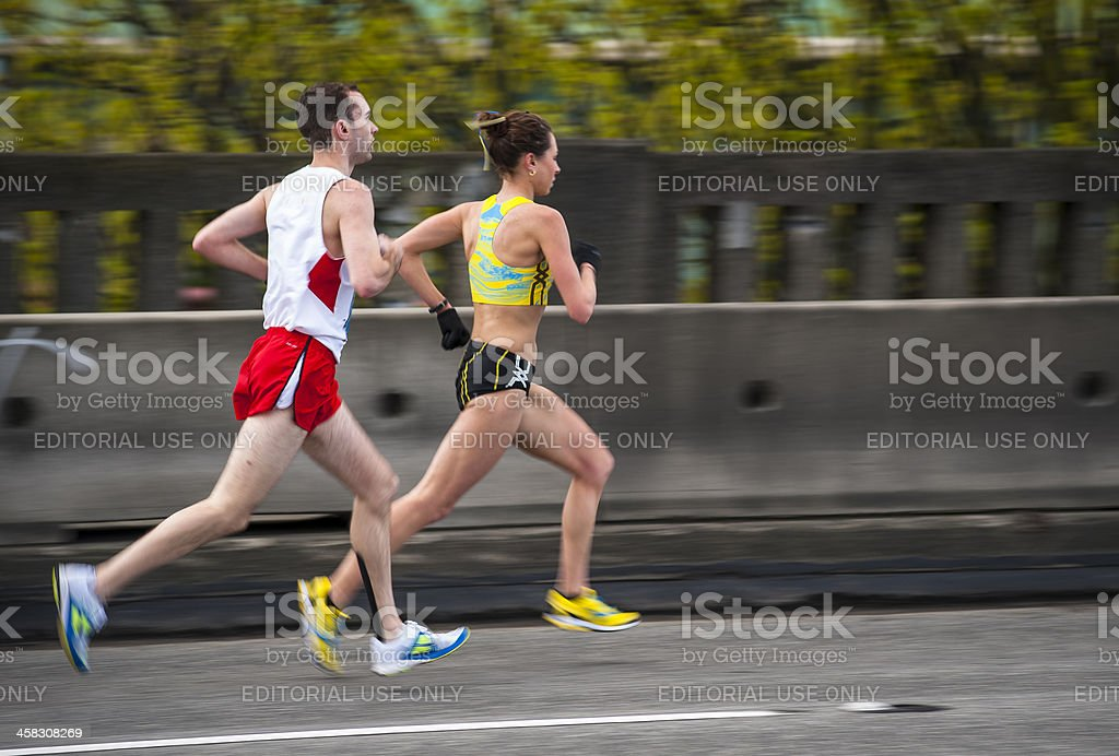 2013 Vancouver Sun Run royalty-free stock photo