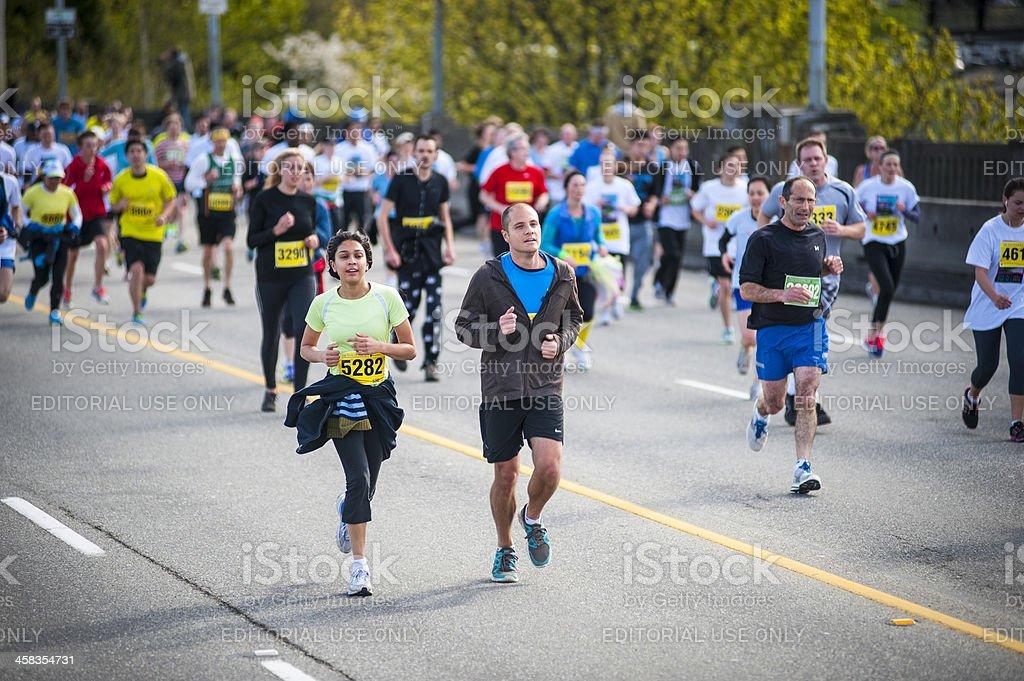 Vancouver sol corrida de 2013 - foto de acervo