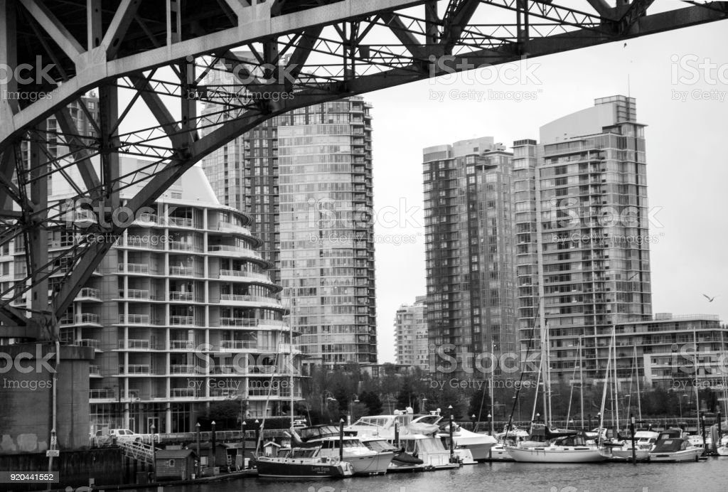 Vancouver water front stock photo