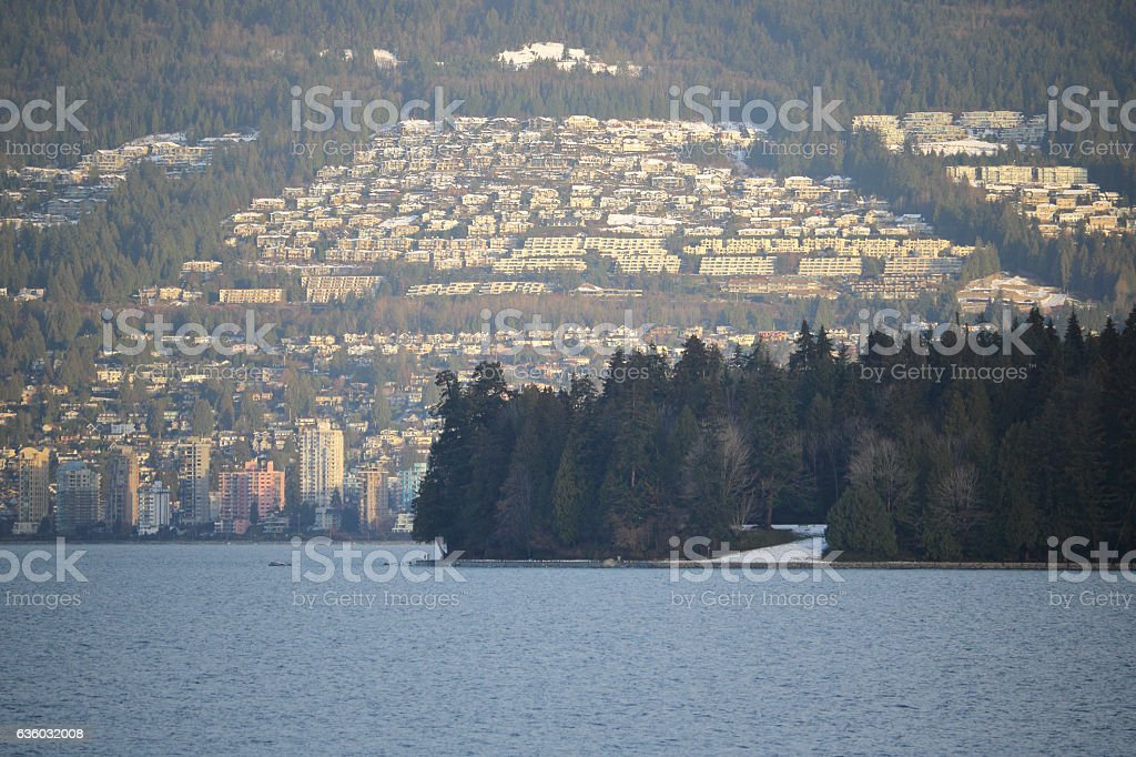 Vancouver's Northshore Development stock photo