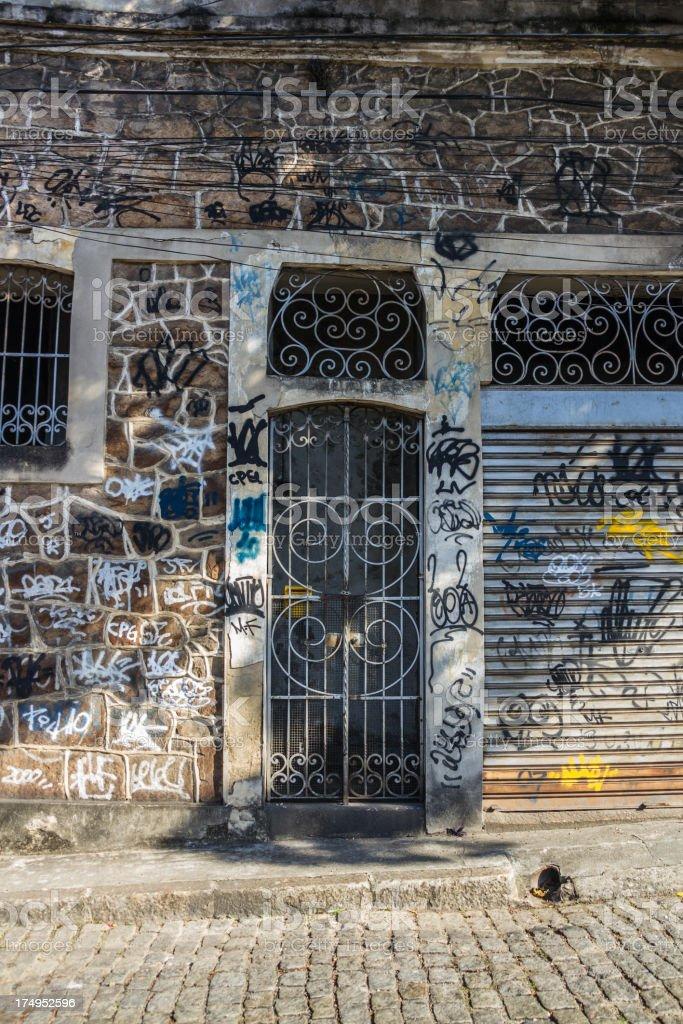 Vandalism stock photo