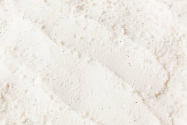 vanilya çekirdeği dondurma arka plan - ice cream stok fotoğraflar ve resimler