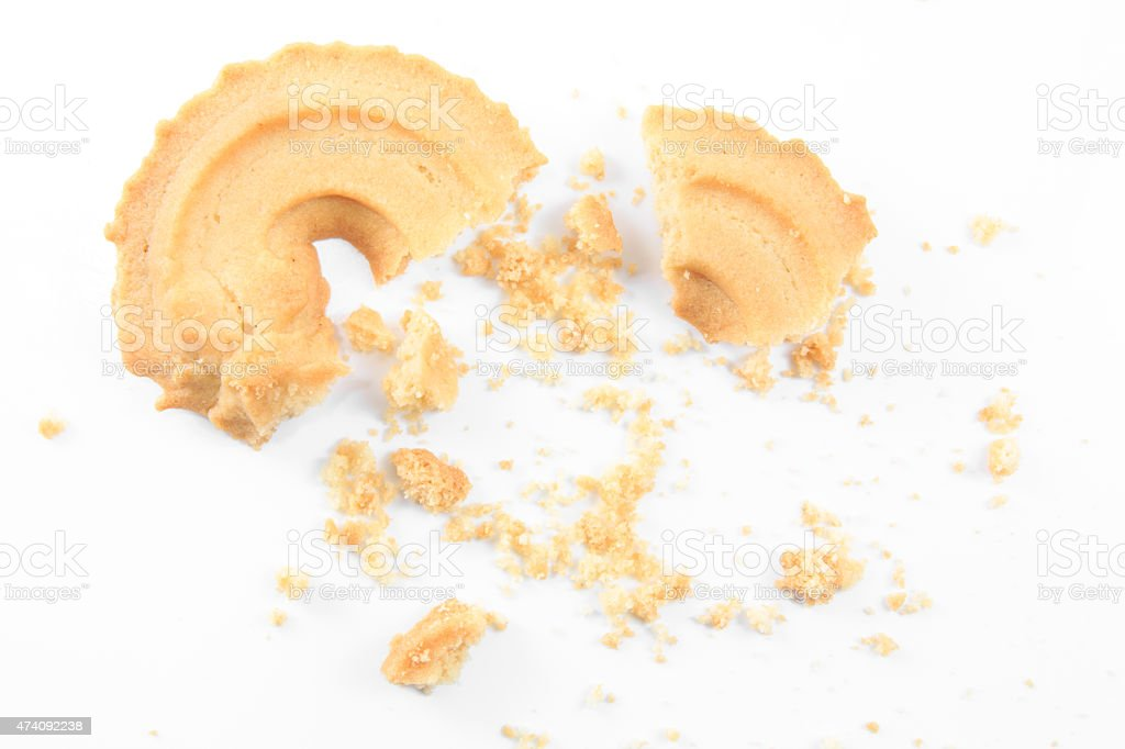 Vanilla Cookies stock photo