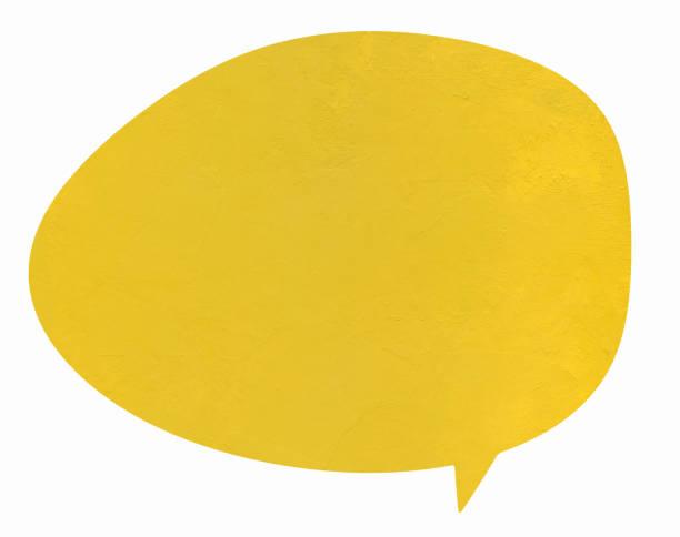 vanilla gold speech globe - fumetto creazione artistica foto e immagini stock