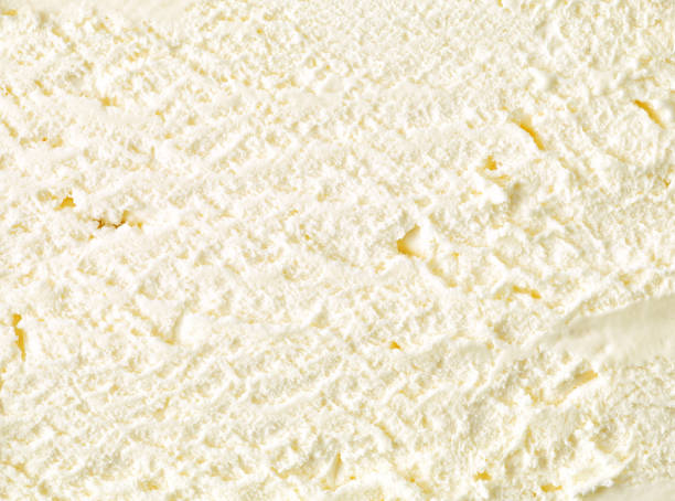 vanilla ice cream background vanilla ice cream background, top view ice cream stock pictures, royalty-free photos & images