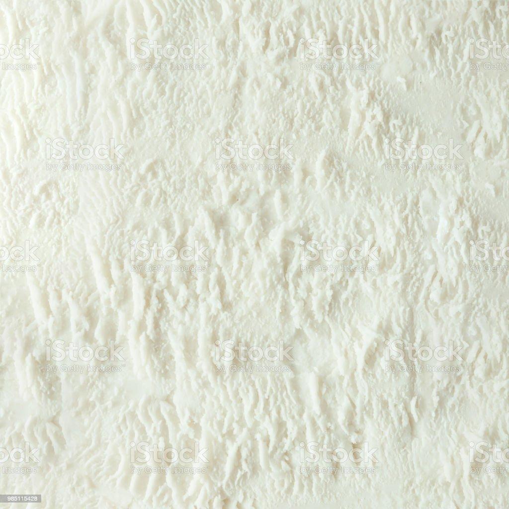 Vanilla Ice Cream White Texture Summer Minimal Background ...