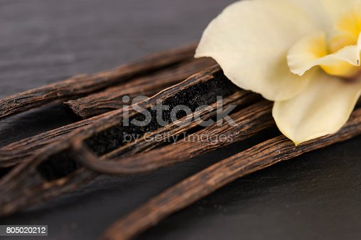 istock Vanilla pods 805020212