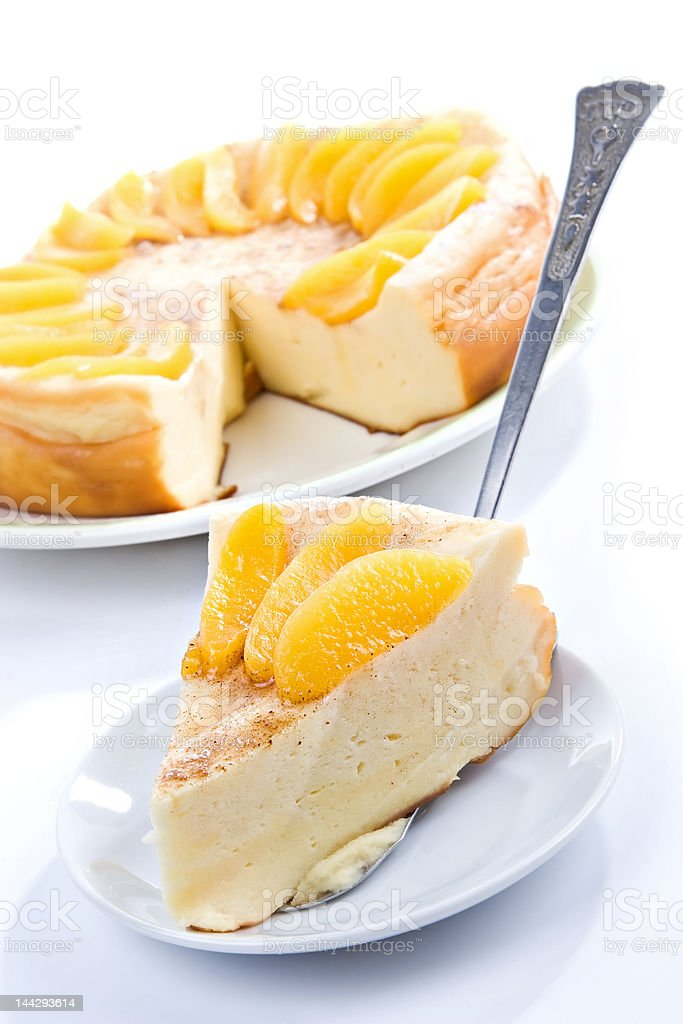 Vanilla Pudding Pie Stock Photo & More Pictures of Baked