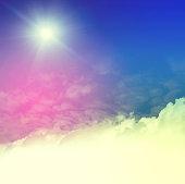 vanilla tone sky background
