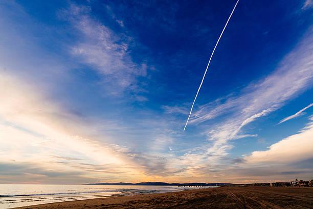 Vanishing Horizon stock photo