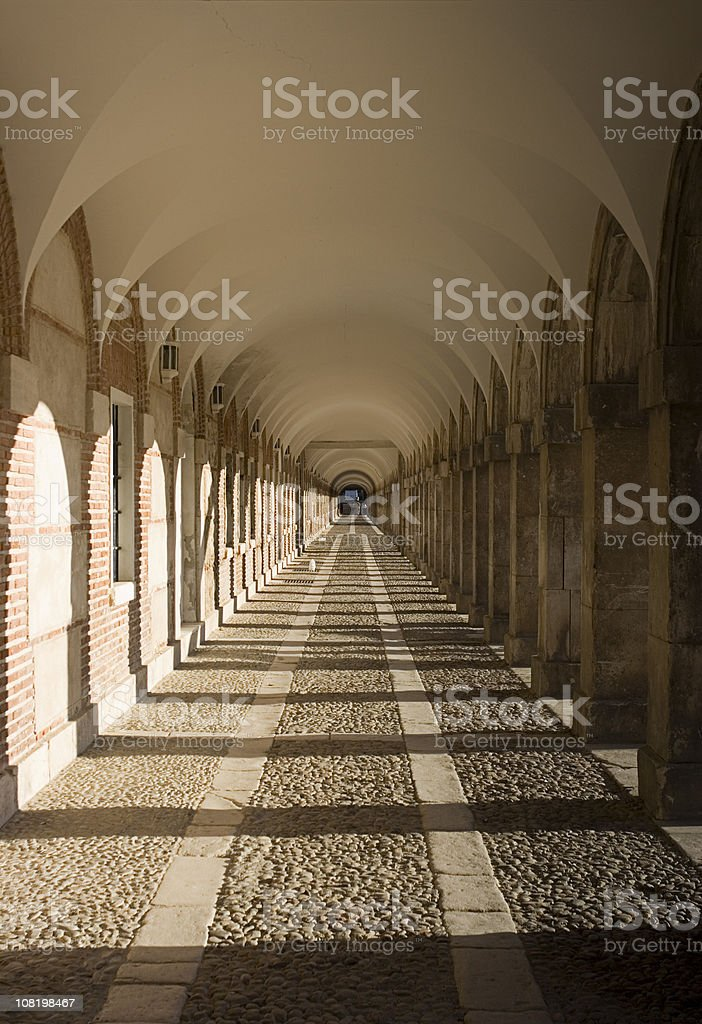 Vanishing Point Archway and Hallway