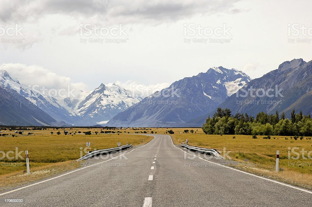 Vanishing Point stock photo