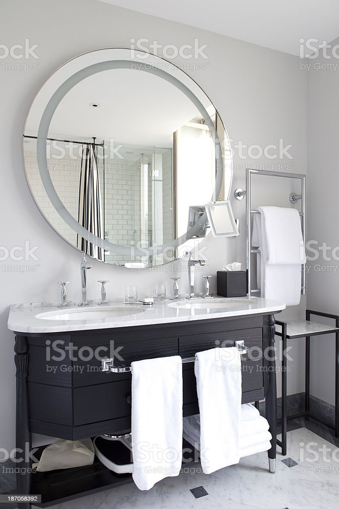 Vanity Bathroom stock photo