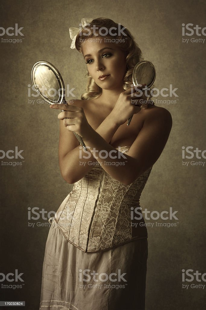vanity royalty-free stock photo